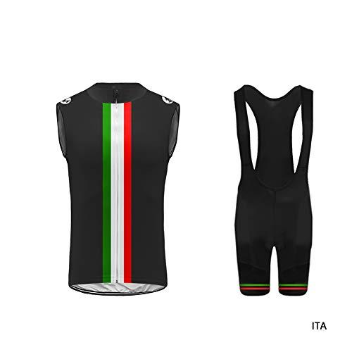 565717c2a91c Uglyfrog Body Tuta Ciclismo Completo Bici Uomo Estivo con Senza Maniche  Maglia Gilet da Corsa e