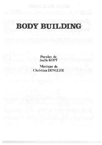 BODY BUILDING par COOKIE DINGLER