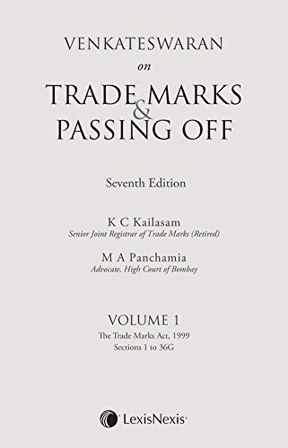 Venkateswaran on Trade Marks & Passing Off (Set of 2 Volumes)