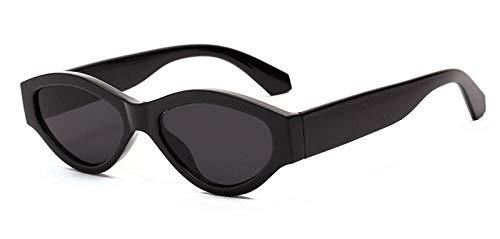 Kuletieas schwarz weiß sonnenbrille frauen polygon uv400 retro sonnenbrille für männer 2019 weibliche mode artikel leopard drop @ full black
