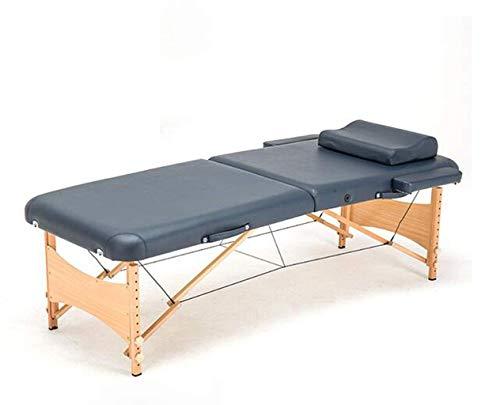 LFNIU Tragbare Faltbare Massageliege, Deluxe Lightweight Section Professional Beauty Tattoo Spa Reiki-Bett -