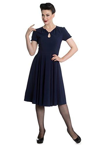 Hell Bunny -  Vestito  - Donna blu navy XS