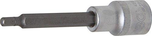 Bgs Bits utilisation 12,5 (1/2), intérieur 6 pans, longueur 100 mm, 5 mm, 4260