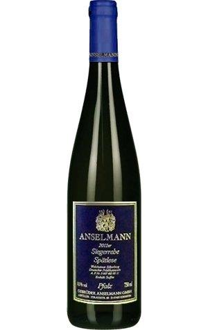 Anselmann Siegerrebe Spätlese 2018 Weißwein süß 0,75 L