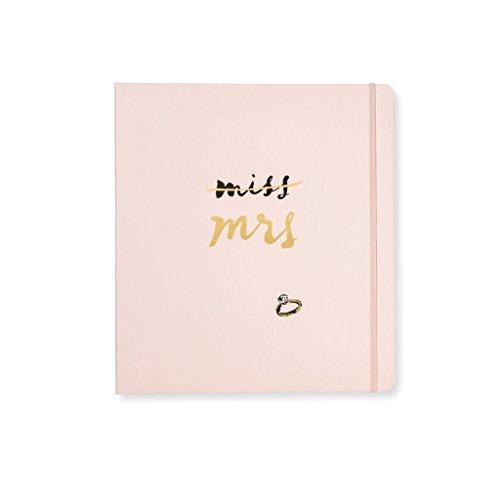 Kate Spade New York Women's Mrs. Magazine Bridal Planner