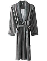 Xin Yu Yue Firm Vestidos de Trabajo para Hombres Pijamas Ropa de Dormir Vestido de algodón