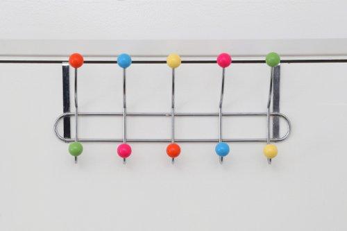 + Premier Housewares Appendiabiti da porta con 10 ganci e pomelli multicolore comprare on line