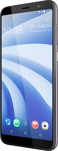 HTC U12 Life Smartphone (15,24 cm (6 Zoll) 18:9 LTPS Display, 64 GB interner Speicher und 4 GB RAM, Dual LED-Blitz, Dual-SIM, Frontblitz, Android 8.1) Twilight Purple Htc Dual-sim