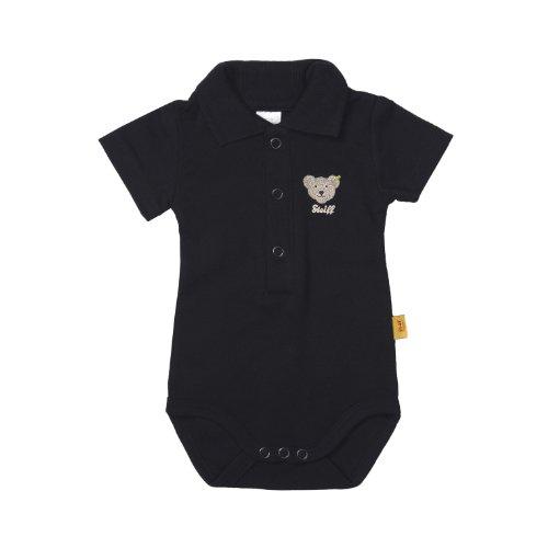 Steiff Unisex - Baby Body, Gr. 80 (Herstellergröße:74), Blau ( Marine)
