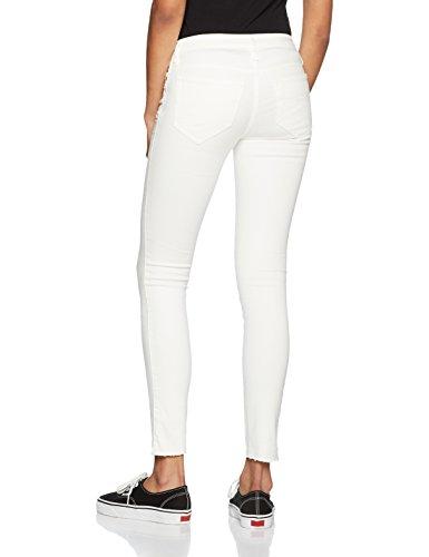 Diesel, Jeans Skinny Femme Blanc