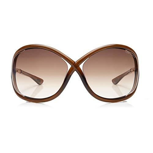 Tom Ford Whitney Sonnenbrille FT0009 braun transparent