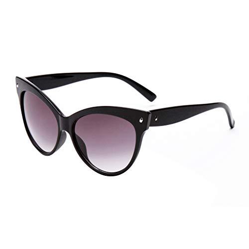 Junecat Weisefrauenniet PC Rahmen Sonnenbrillen UV 400 Sonnenschirme Erwachsene Brillen Reise Strand Freizeit Sun Glasses