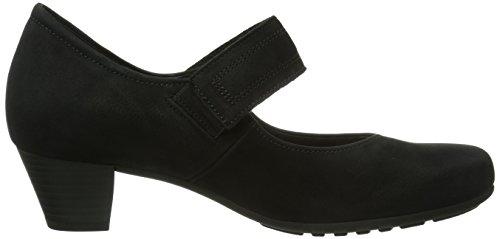 Gabor Shoes - Scarpe, Donna Nero (Schwarz (Schwarz))