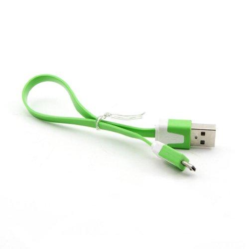 HuaYang Court Micro USB Sync Data cable chargeur pour d'occasion  Livré partout en Belgique