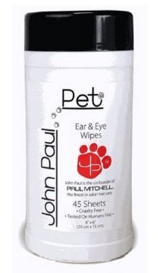 Hunde Ear Wipes, Für (John Paul Pet Ear & Eye Wipes - 45 Tücher)