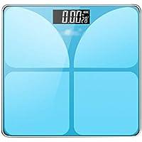 Básculas Digitales Escala Electrónica De Alta Precisión Hogar Inteligente Baño Peso Escala 6mm Pantalla De Vidrio