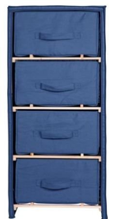 canvas-4-drawer-chest-storage-unit-blue-polycotton-wood-bedroom-furniture