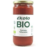 Ekolo  Tomate Triturado Ecológico, 6 Tarros * 700G 6 Unidades 3960 ml