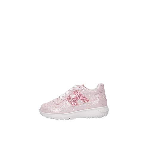 Hogan Junior HXT3710AP30KIJ0QEX Sneakers Bambina Rosa 24