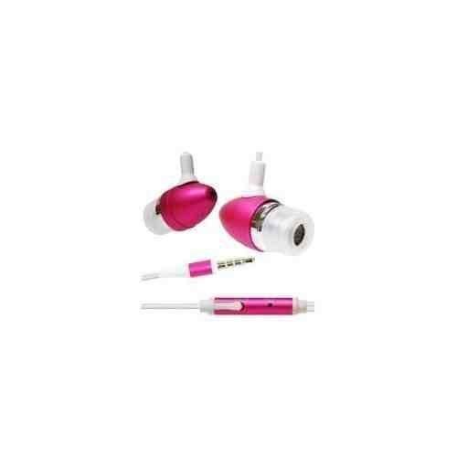Kopfhörer für Apple iPhone/3 g/3Gs, mit Mikrofon), Pink