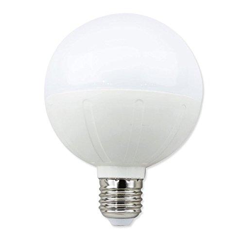 aigostar 181796Ampoule LED, g95, forme de boule, 15W, culot à vis, blanc chaud