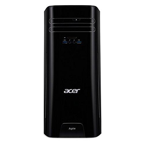 Acer Aspire TC-780 - Ordenador de Sobremesa (Intel Core i5-7700, 12 GB de RAM, HDD 1TB, Windows 10); Negro