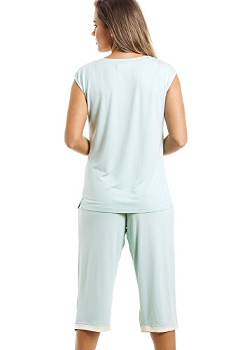 Ensemble de pyjama - haut sans manches/pantacourt - vert menthe Vert