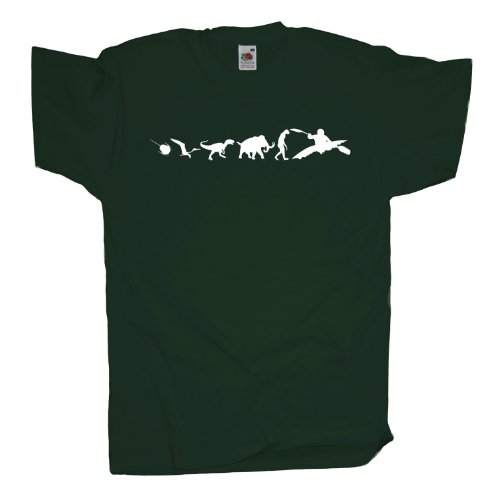 Ma2ca - 500 Mio Wildwasser Rafting T-Shirt Bottle Green