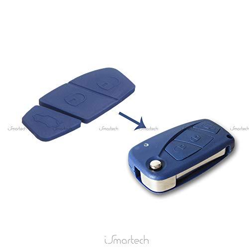 Teclado Pad 3Botones para llave mando a distancia 2/3botones coche Vehículos Fiat...