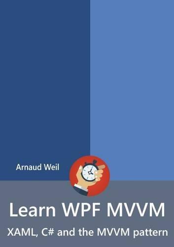 Free Learn Wpf Mvvm Xaml C And The Mvvm Pattern Pdf