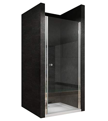 100cm Duschtür Duschabtrennung Nischentür Pendeltür Duschwand Schwingtür mit Nano Besc