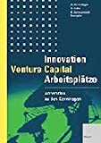 Image de Innovation, Venture Capital, Arbeitsplätze
