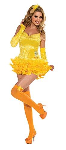 Tunes Kostüm Looney Erwachsene Für - Karneval-Klamotten Tweety Kostüm Damen-Kostüm Looney Tunes Erwachsene Größe 42/44