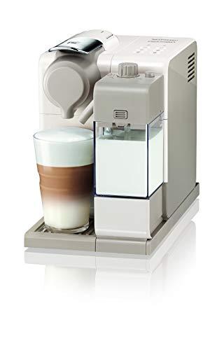 De\'Longhi Nespresso Lattissima Touch  | EN 560.W Kaffeekapselmaschine mit Milchsystem | Flow Stop Funktion: Kaffee- und Milchmenge individuell einstellbar | 19 bar Pumpendruck | Weiß Beige