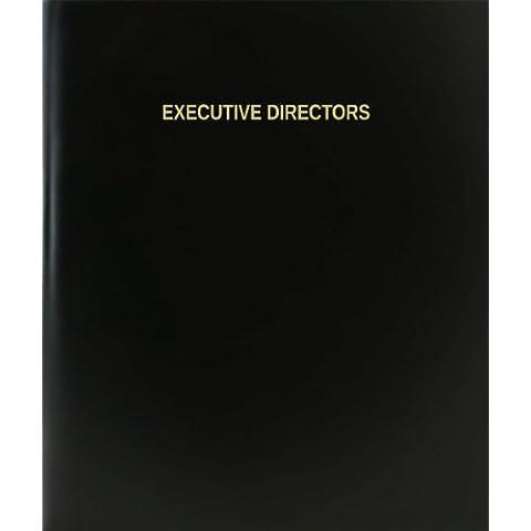 BookFactory® directores ejecutivos libro de registro/diario/diario página–120, 8,5