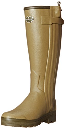 Le Chameau Chasseur Mens Wellington Boot UK6 EU39 US7 Vert Vierzon 41 Calf (Mens Knee High Leder Stiefel)