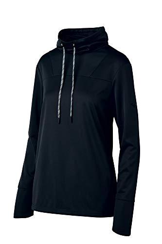 Mizuno AR Funnel Neck Pullover, Damen, AR Funnel Neck Pullover, schwarz, Small -