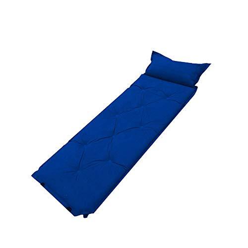 Teng Peng Automatische Aufblasbare Kissen Einzel Verdickung Picknick Im Freien Feuchtigkeit Pad Erweiterung Kann Dinkel Doppel Tragbare Zelt Matte, 198X69 cm Camping Schlafmatte (Color : A)