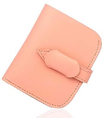 Mammon Women's Pocket Size Money Wallet (wmw-luppi-Pink, Size-9x11cm)