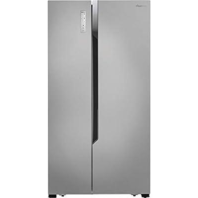 Fridgemaster MS91518FFS American Fridge Freezer, Silver