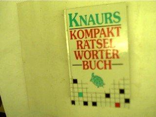 Knaurs Kompakt-Rätsel-Wörterbuch