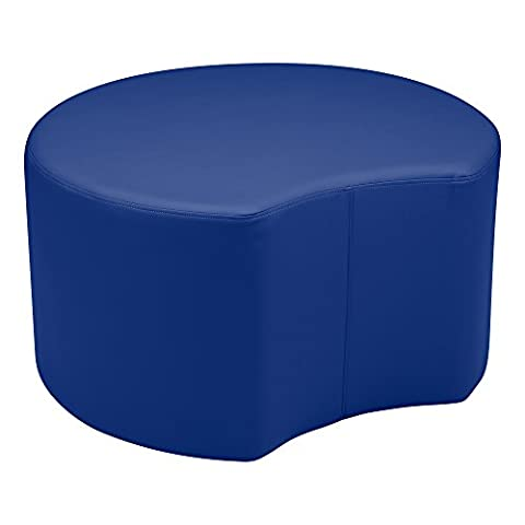 'sprogs SPG-A Kids 1014bl vinyle Soft Seating Crescent Stool, 18
