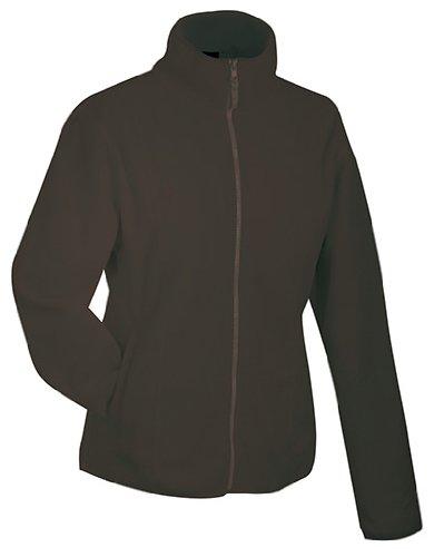 JAMES & NICHOLSON Leichte Jacke aus Microfleece Brown