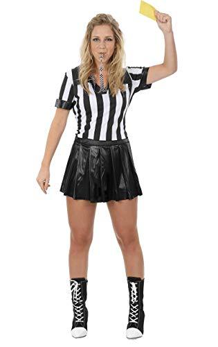 Schiedsrichter Kostüm für Damen Karneval Fasching Verkleidung - Schiedsrichter Kostüm Für Erwachsene