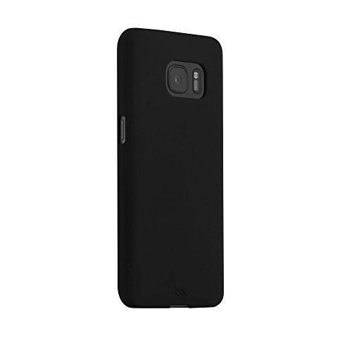 Case-Mate Barely There Case für Samsung Galaxy S7 in schwarz - von Samsung zertifizierte Schutzhülle [Extrem dünn | Sehr leicht | Soft-Touch Beschichtung] - CM033968 Case-mate Skins