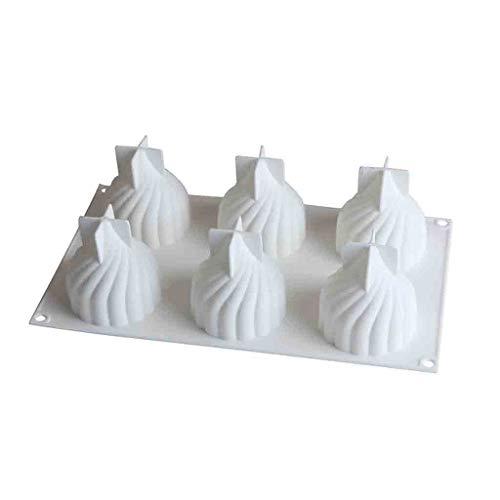 Jugendhj 3D Silikon Backform Backform Cupcake Mousse Form Dekorieren DIY Backformen