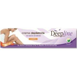 Deepline Haarentfernungscreme für den Mann. Lässt die Haut sanft, geschmeidig und seidig auch intimbereich.