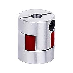 CNC Plum Coupling Shaft Coupler D20L25 for Engraving Machine 6 x 6.35mm