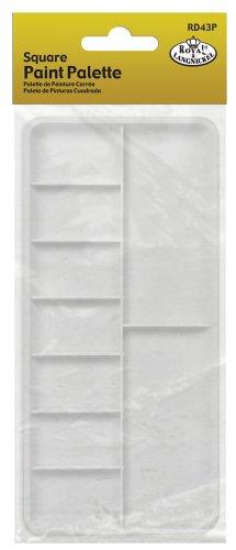 Royal & Langnickel Rectangle Palette Plate Test