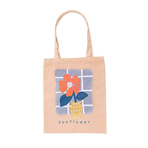 Neu Faltbare Handliche Wiederverwendbare Tasche Recycle Storage Handtaschen Hom (Beige) ()